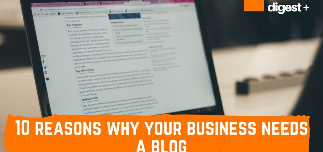 blog for my business